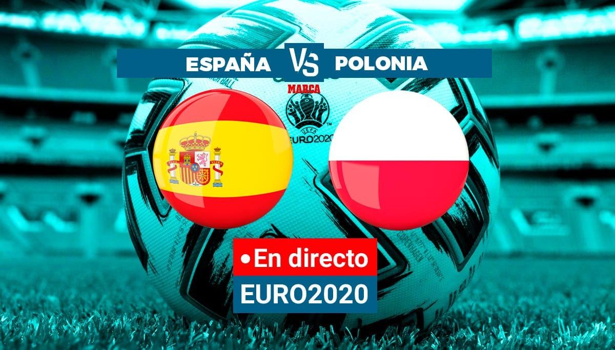 Spain - Poland Live | Euro 2021 live | Brand