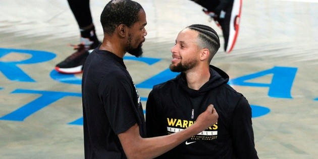 Stephen Curry's reaction to Kevin Durant's playoff loss