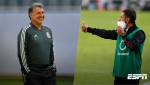Tata Martino and Jimmy Lozano, the duo that got together to give the Mexican National Team two million dollars
