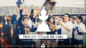 The 'Tucazo' turns 30, an unforgettable Final for Pumas and Ferretti