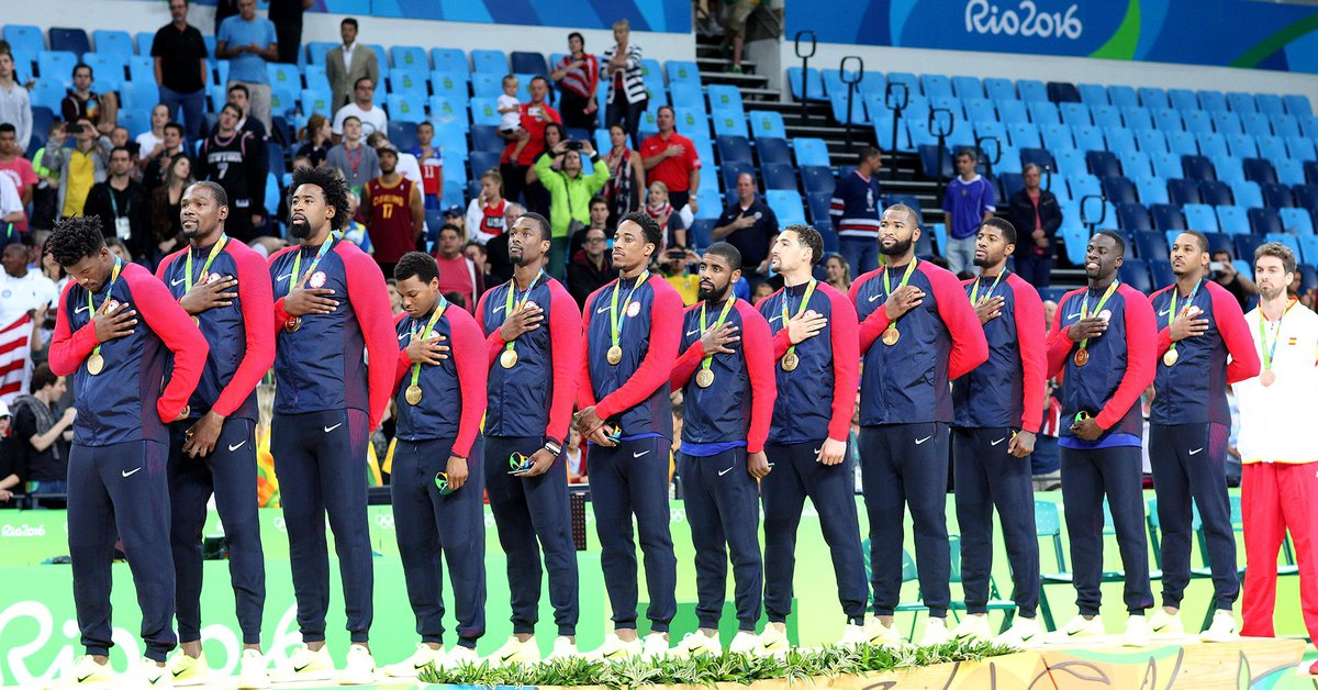 The United States assembled a Dream Team with several of the NBA's top stars to go for gold at the Tokyo Olympics