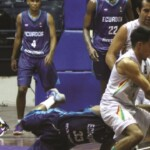 The basketball team rejoices and qualifies despite losing