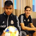 The eleven of the active players who chose to represent Mexico
