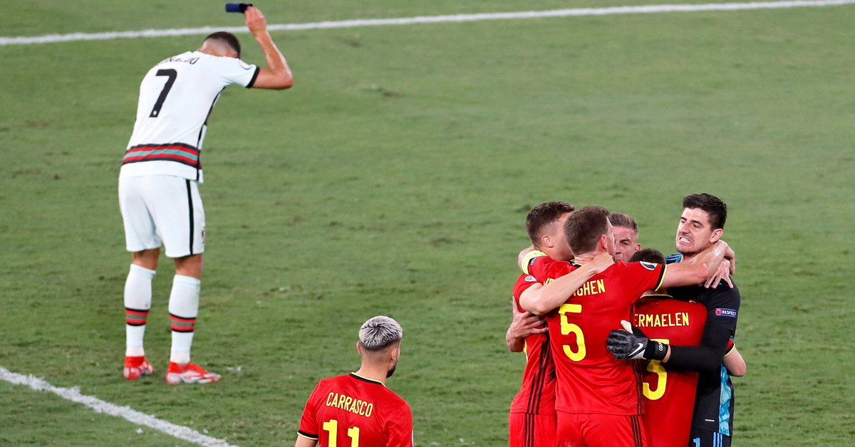 The gesture of Cristiano Ronaldo after the elimination of Portugal that outrages the world of football