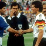 """The linesman who did not see the """"hand of God"""" in 86 broke the silence: why he missed it and a complaint about the final that Argentina lost in the World Cup 90"""