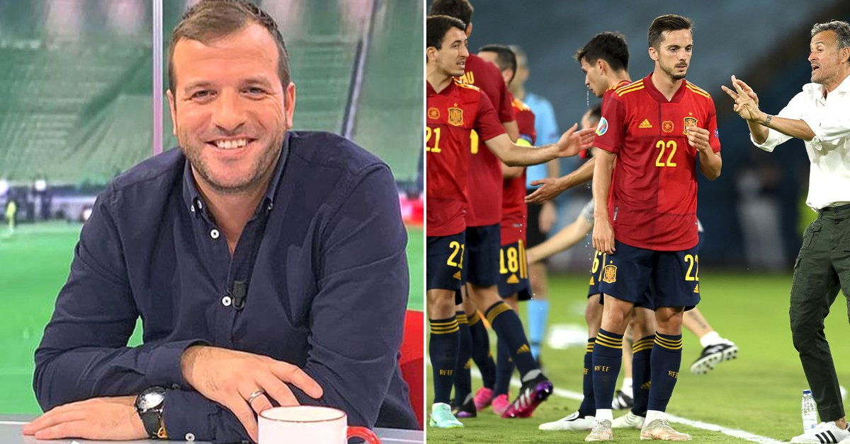 """""""They play horrible"""": the harsh criticism of Van der Vaart that unleashed a scandal with the players of the Spanish team"""