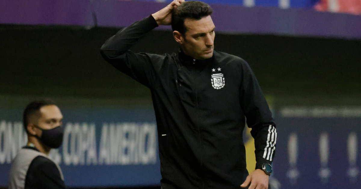 Two laps and four alarms: the formation of Argentina that Scaloni prepares to face Bolivia