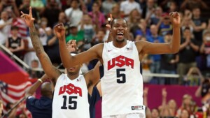WITHOUT EQUIPMENT   The stars of Team USA will once again steal the spotlight at the Olympics