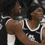 Who is Terance Mann, the player who replaced Kawhi Leonard and eliminated the Jazz?