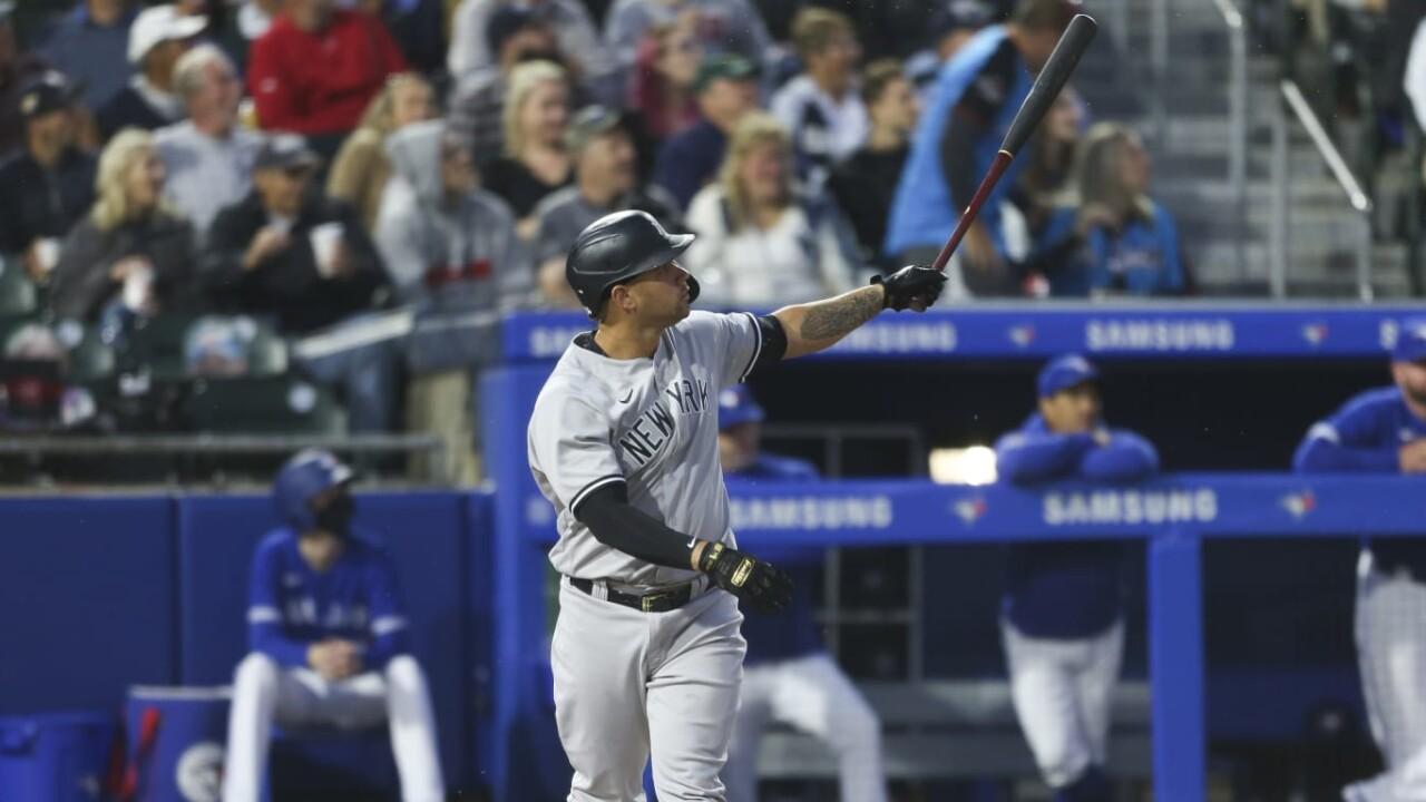 Yankees beat Blue Jays with Gary HR