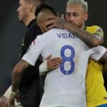 Neymar's spicy message for Arturo Vidal: 'The weak try to stay on their feet, the strong stay in the faith'