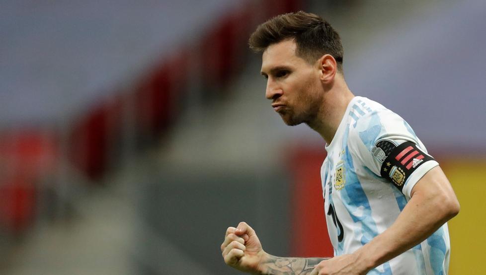 1625668789 Messi bleeding ankle and Yerry Mina hesitates Dance now dance