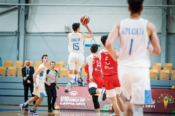 Argentina got into the top eight of the U19 World Cup. (CAB)