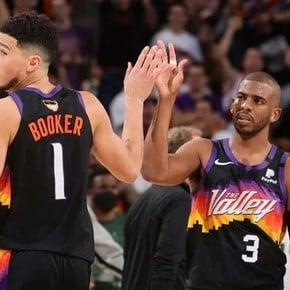 Phoenix struck first in the NBA Finals