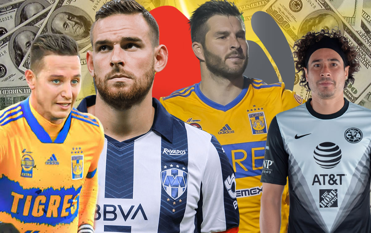 How much money does a player earn in Mexican soccer?