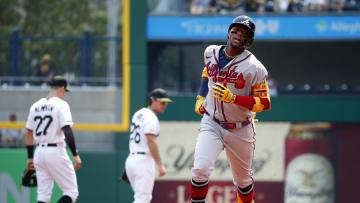 Ronald Acuña Jr. hit his 24th home run of the season