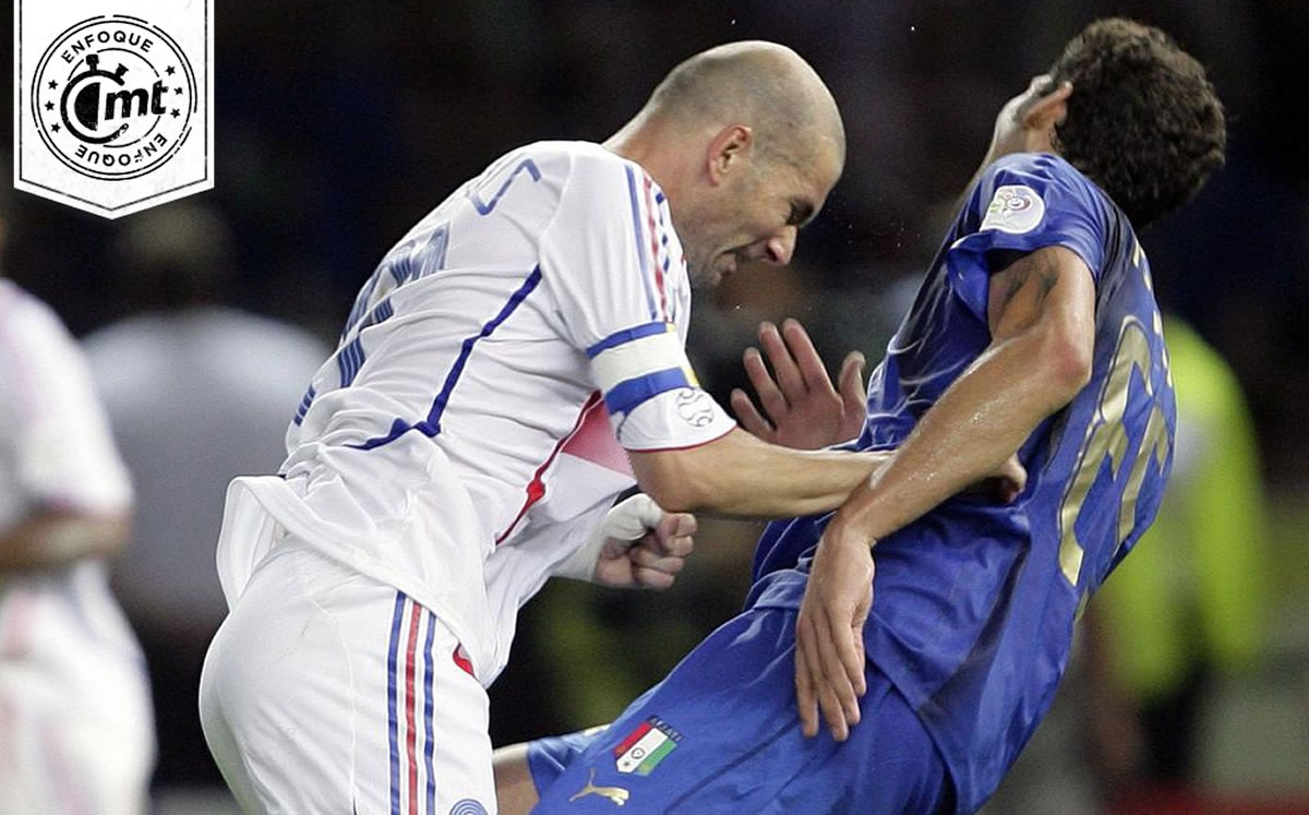 Zidane and Materazzi; one won everything as DT and the other is dedicated to wine