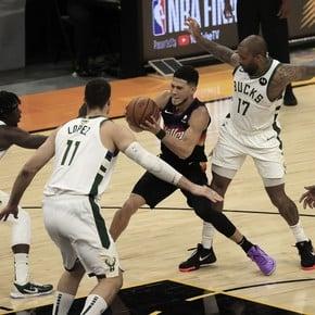 NBA Finals: With 20 triples, Phoenix Suns went 2-0 against Milwaukee Bucks