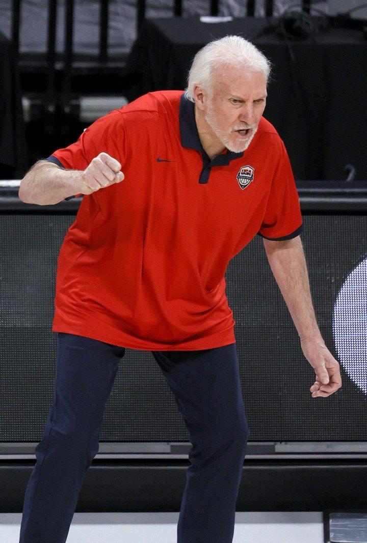 Gregg Popovich accepted defeat.