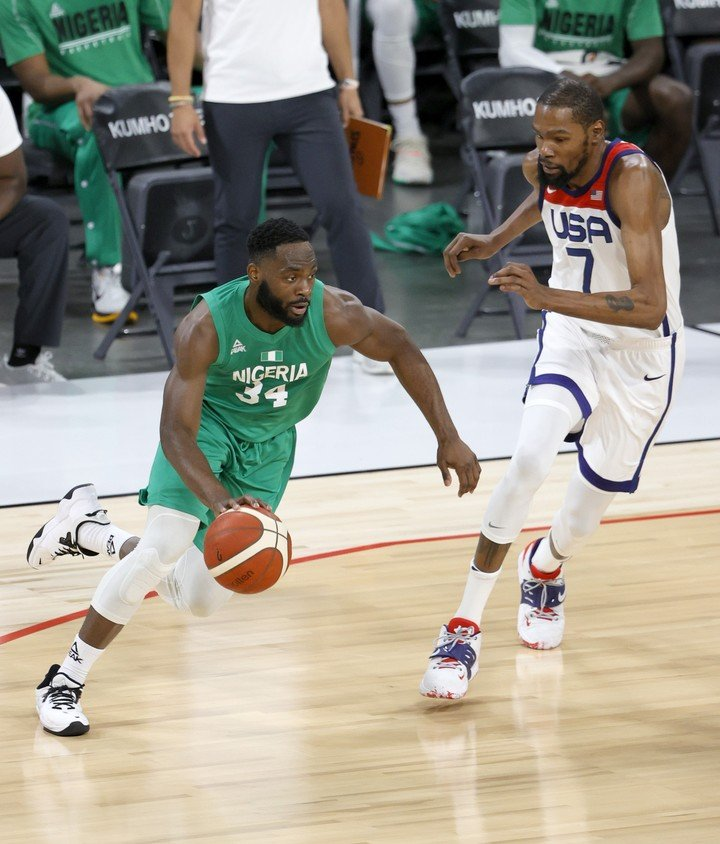 Kevin Durant couldn't against Nigeria.