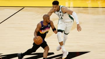 Bucks and Suns will play the second game of their series this Thursday in Phoenix