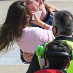 Messi: the madness when leaving Ezeiza and the hug with Anto in Rosario