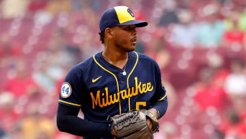 Freddy Peralta is a figure in the Brewers' rotation