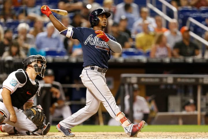 Ozzie Albies has 15 home runs for the Atlanta Braves at the time of the 2021 MLB All-Star break