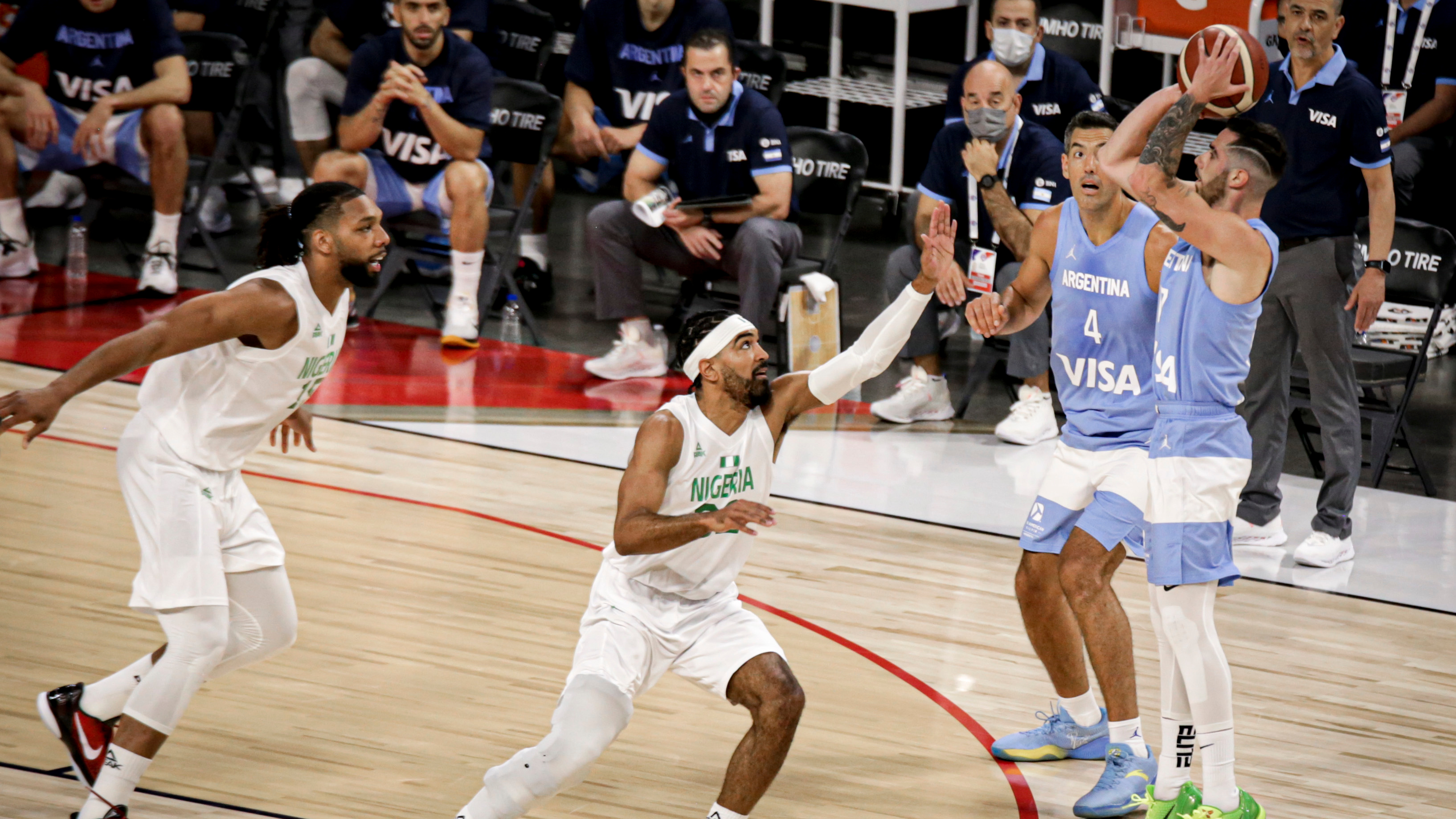 1626132053 225 Nigeria surprised Argentina defeat by 94 71 of the national team