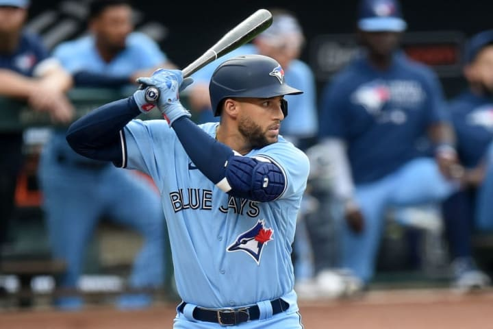 Star outfielder George Springer returned to the Toronto Blue Jays lineup after a 44-game absence