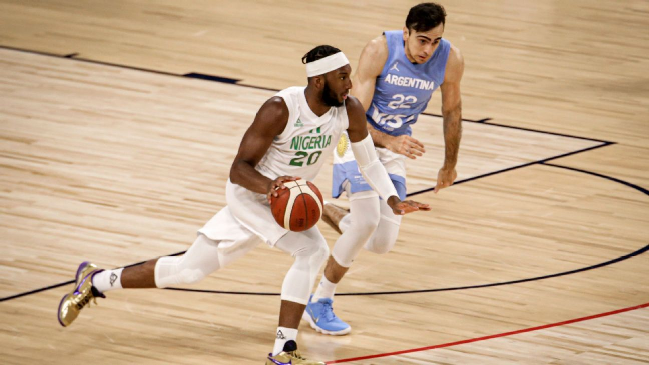1626210710 Argentina lost without mitigating against Nigeria heading to the Olympics