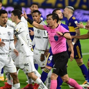 The scandalous goal annulled to Boca