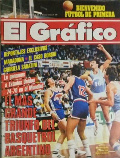 Cover of El Plot - Arg vs. USA 1986