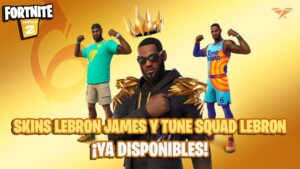 Fortnite: LeBron James and Tune Squad LeBron skins now available; price and contents - MeriStation