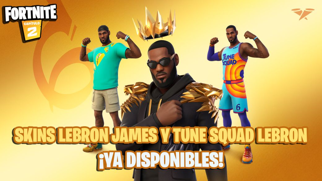 1626309444 Fortnite LeBron James and Tune Squad LeBron skins now available