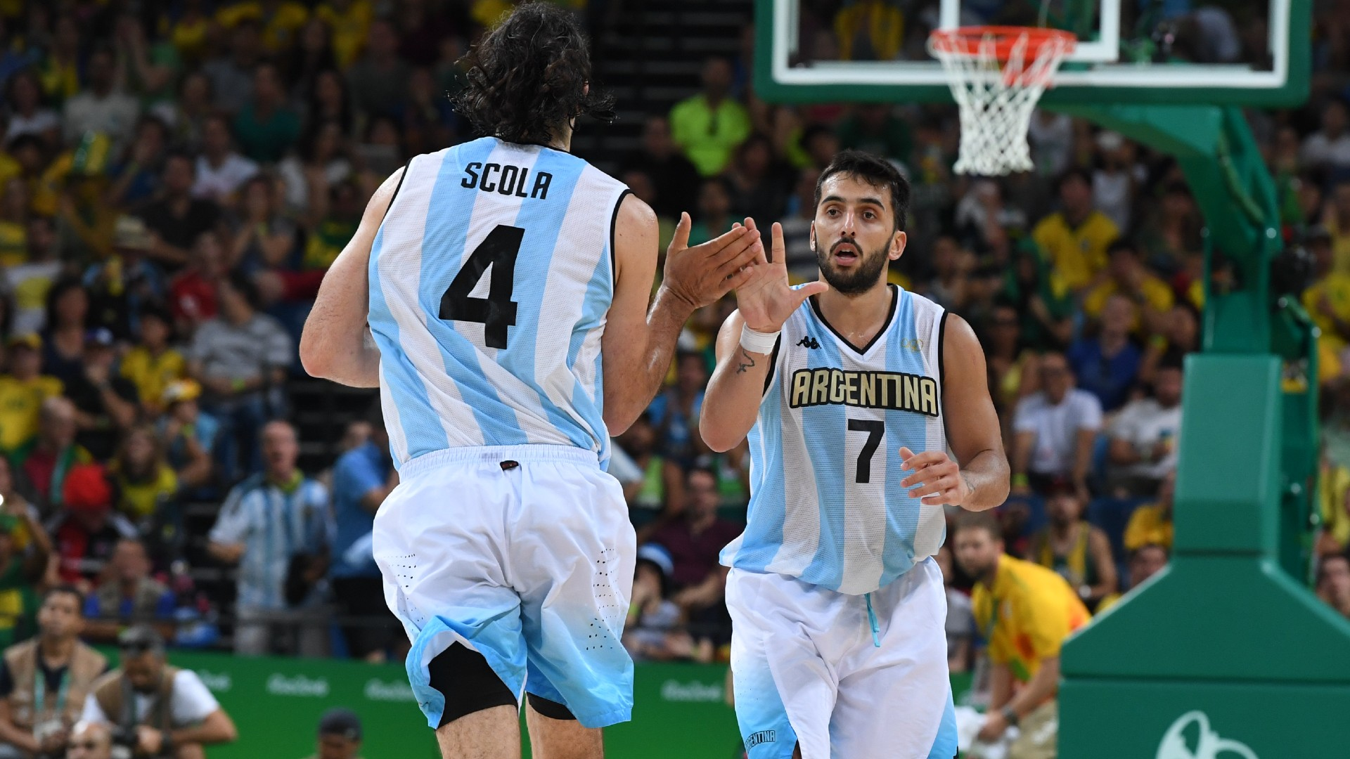 1626379377 125 The Argentine basketball team at the Olympic Games records statistics