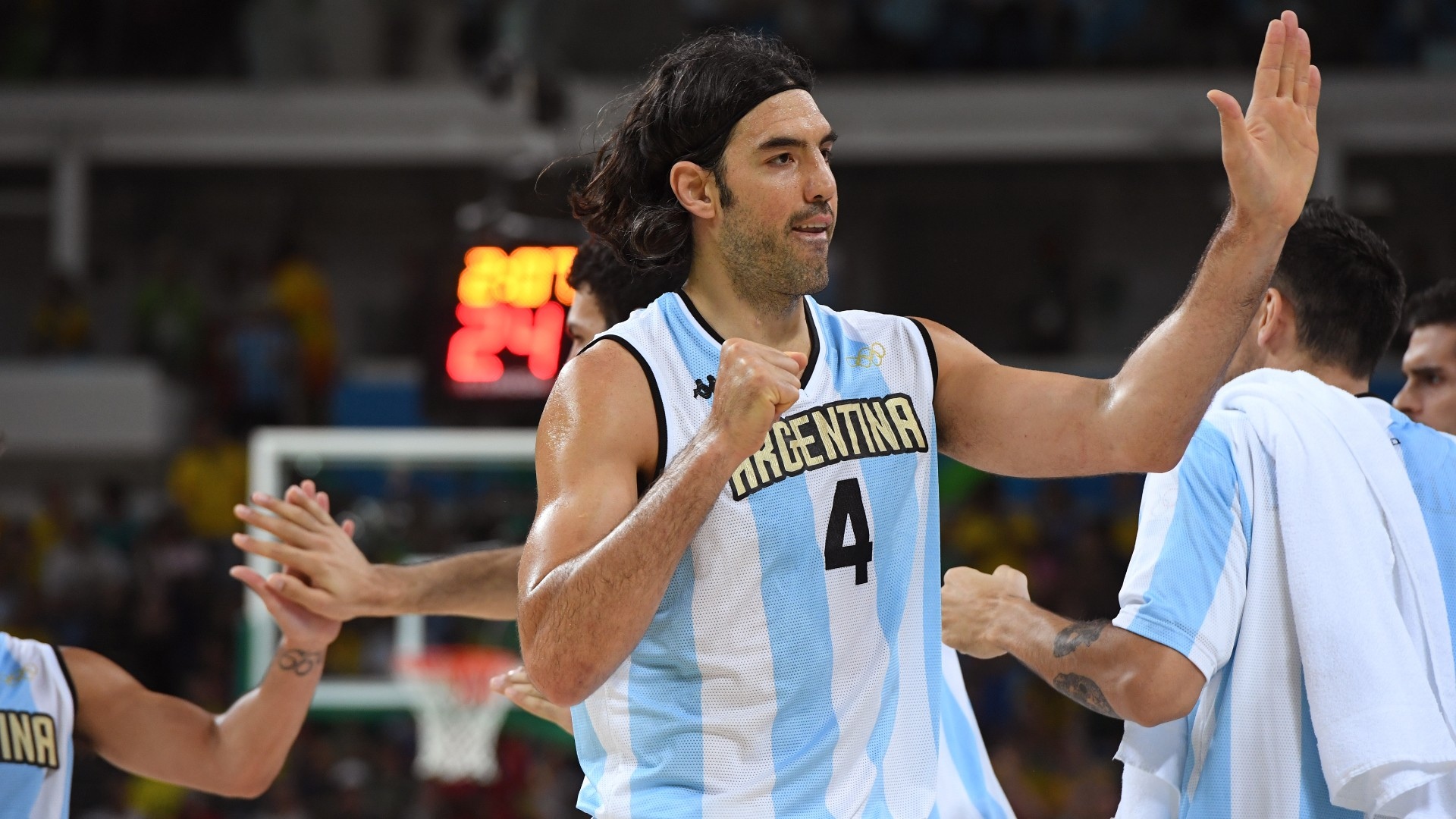 1626379385 337 The Argentine basketball team at the Olympic Games records statistics