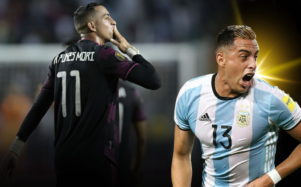 They make fun of Funes Mori in Argentina for playing with Mexico
