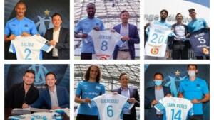 Pablo Longoria's Marseille flies in the market: the 'signing' president adds eight signings