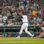Miguel Cabrera singled and marked the victory of the Tigers