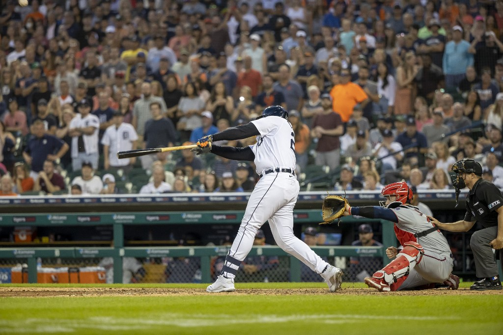 1626613314 Miguel Cabrera singled and marked the victory of the Tigers