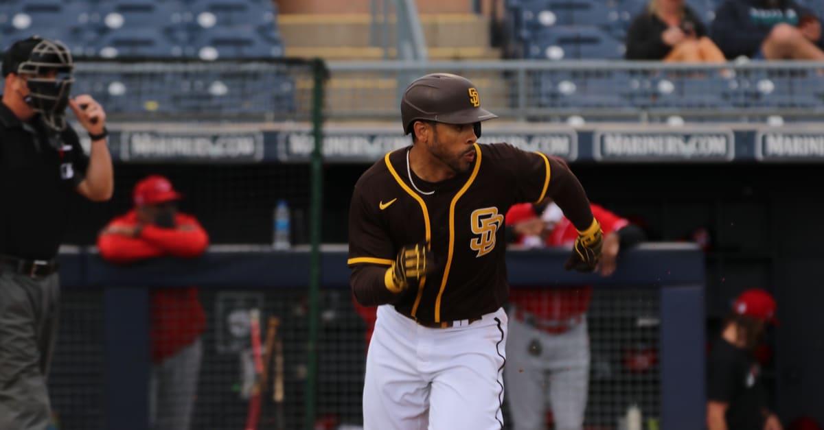 Fernando, Tatis JR, infielder for the San Diego Padres