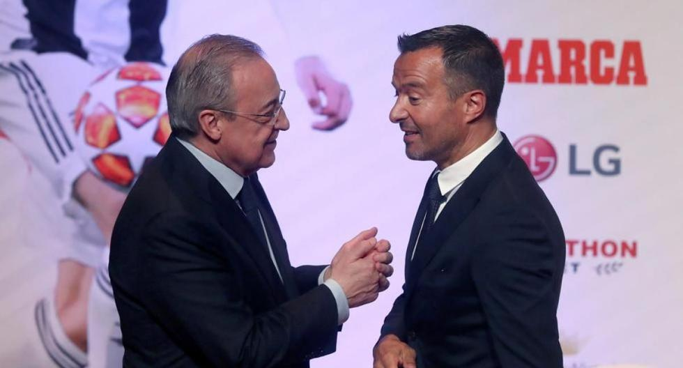 Jorge Mendes closes the pipe to Real Madrid: revenge for Florentino's audios