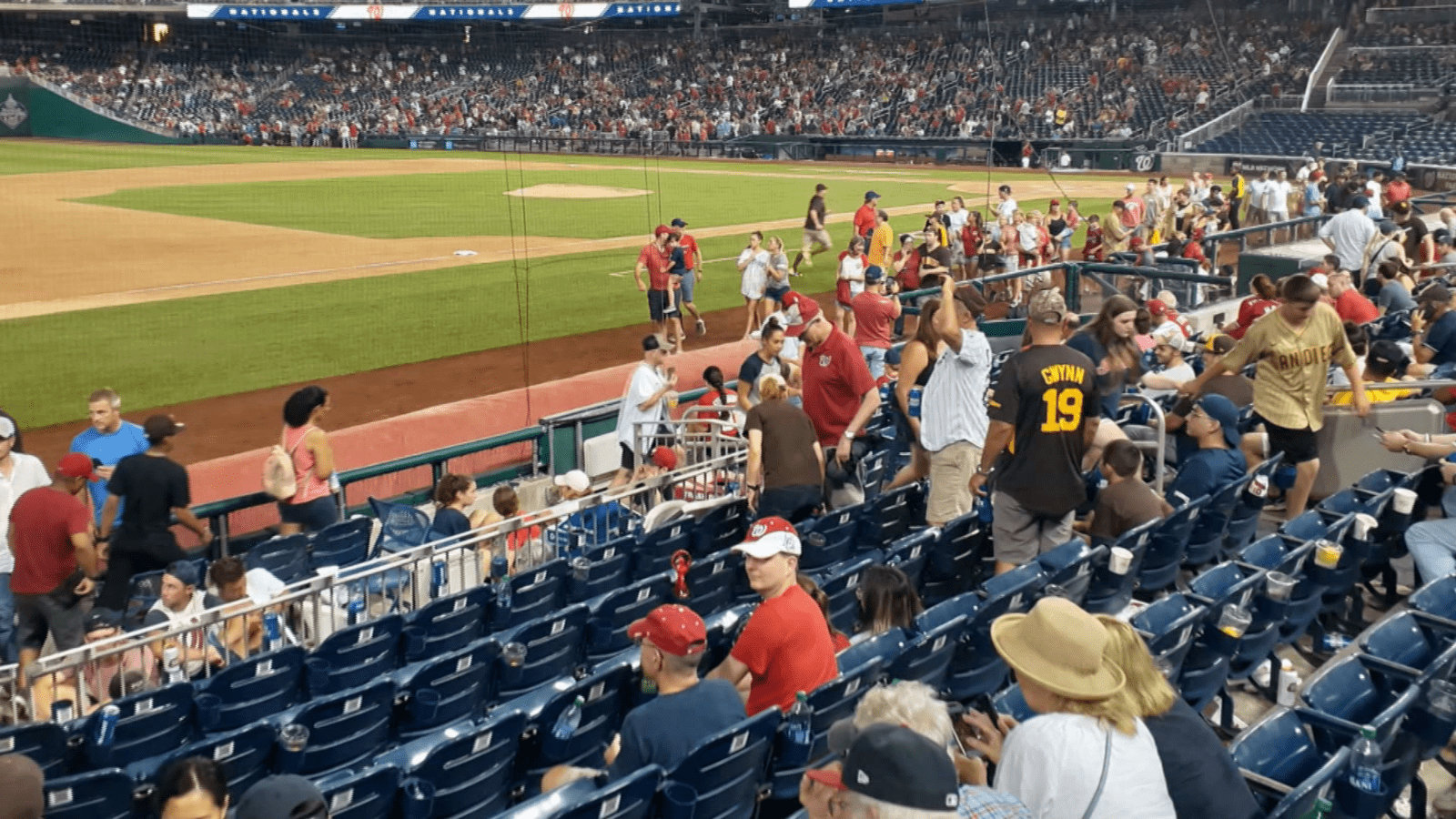 1626675440 3 people injured in shooting outside Nationals stadium Video