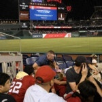 At least 3 people are shot outside a baseball game in Nationals Park