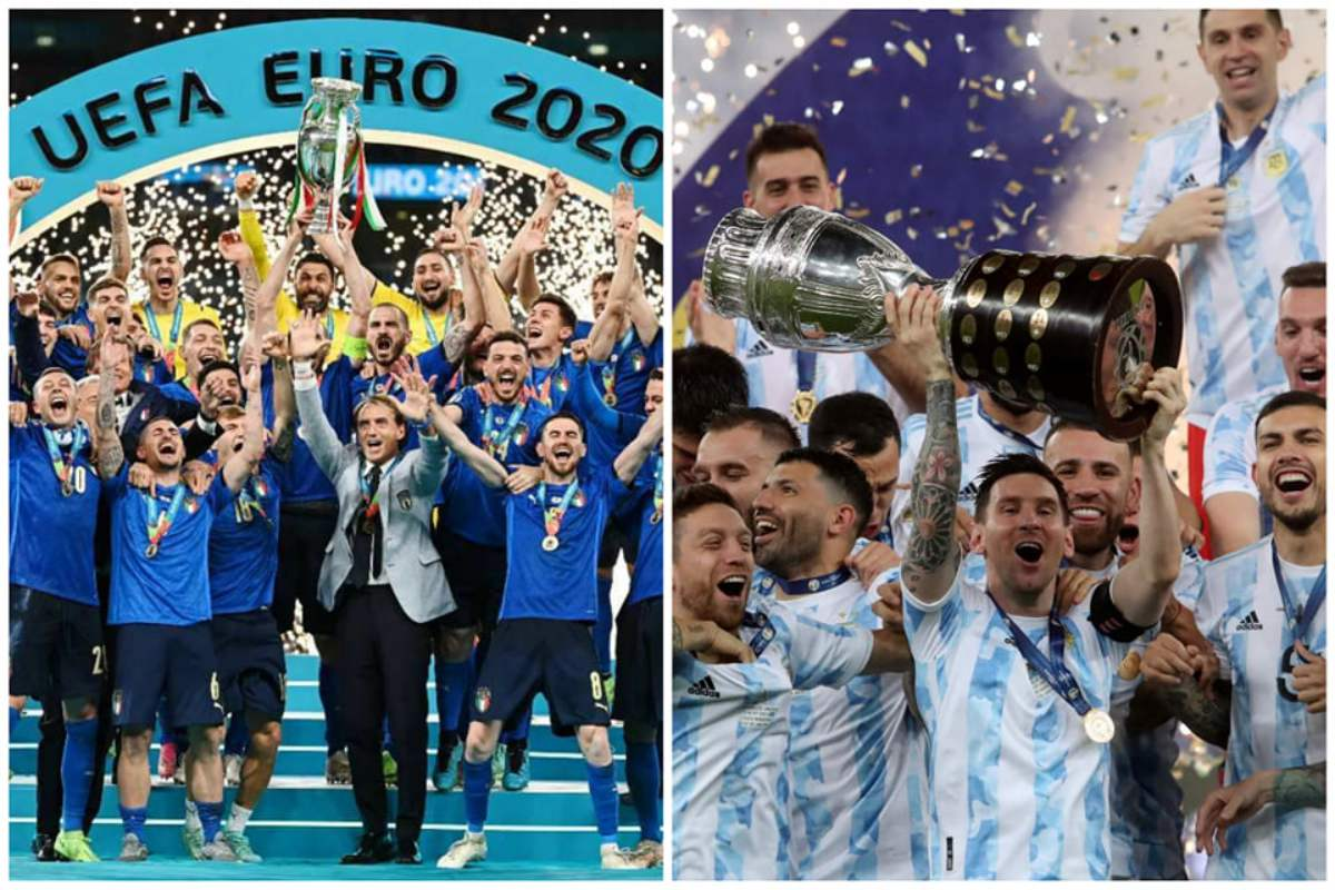 Argentina and Italy will compete in the Diego Maradona Cup