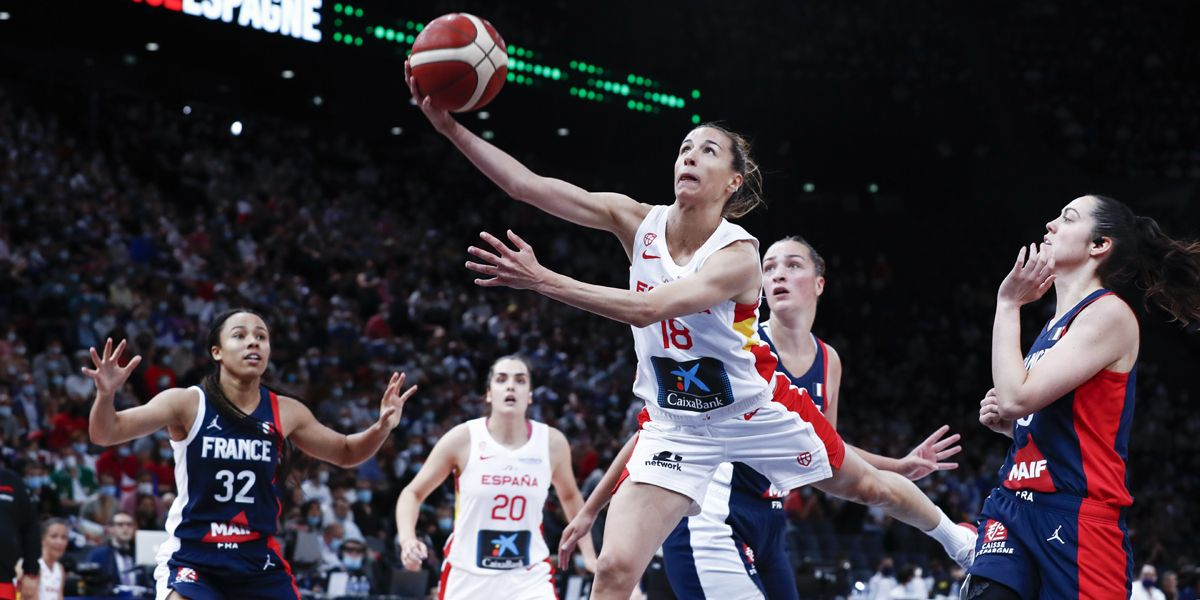 When does the Spanish women's basketball team play in the Olympic Games?