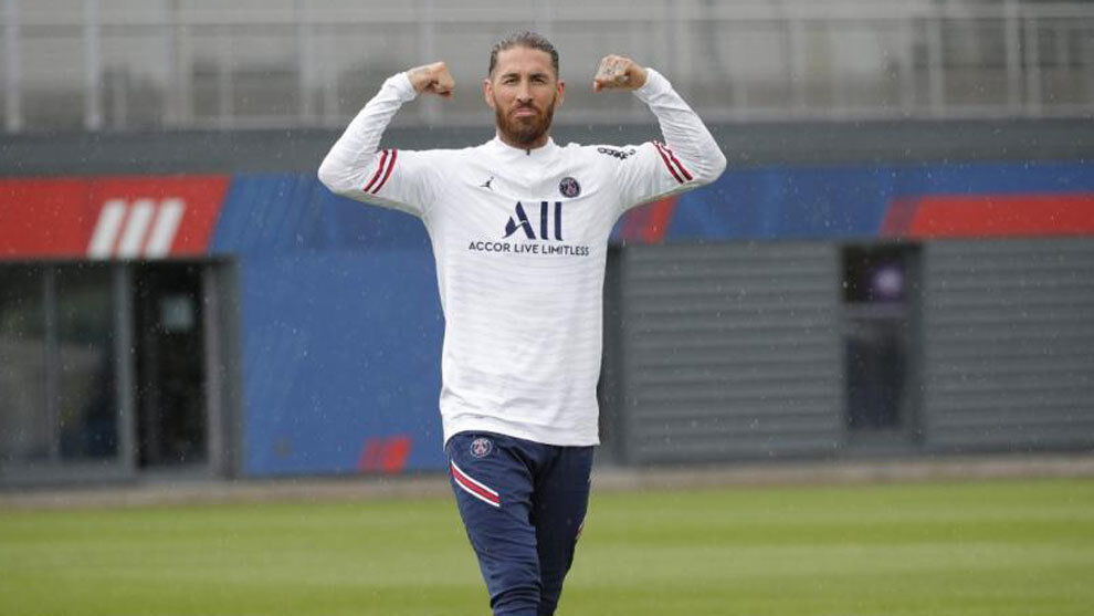 1626848494 Everything ready for the premiere of Ramos with Paris Saint Germain