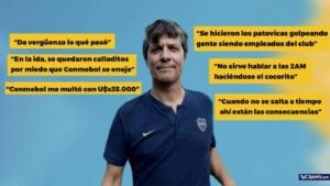 Pergolini shot against the Council of Boca and Riquelme - TyC Sports