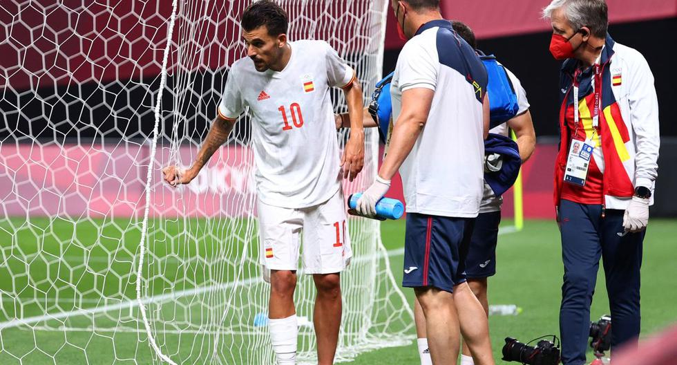 Not suitable for sensitive people: the harsh image of Dani Ceballos' ankle injury in Spain vs. Egypt [FOTO]